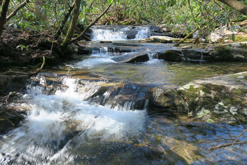Mill Station Creek Cascades - 3,350'