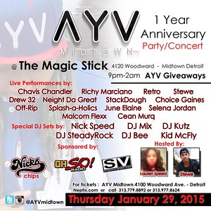 Magic Stick 1-29-15 Thursday