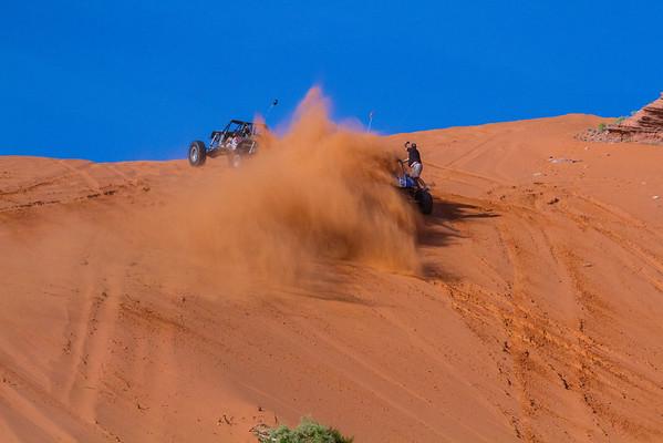 Trail Hero 10-7-16 Long Lens Sand Hollow UT