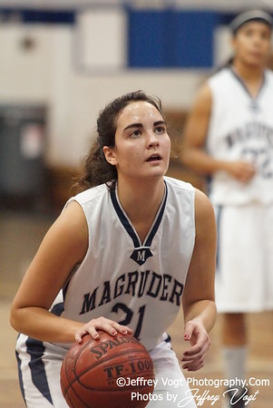 12-27-2011 Magruder HS vs Holton Arm's HS Girls Varsity Basketball, Photos by Jeffrey Vogt Photography