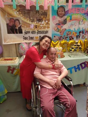 "2018-07-07 Papa Tomas and Megan""s birthday, Anniversary"