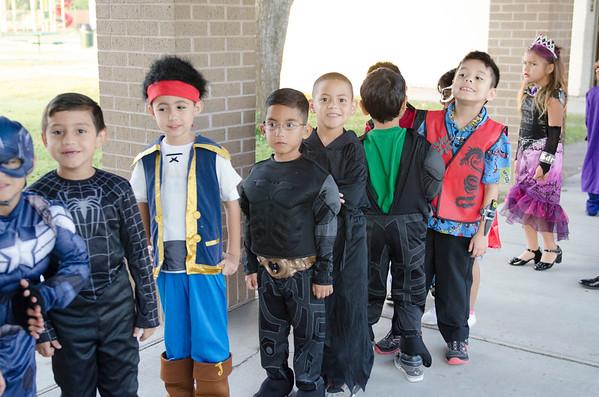 Red Ribbon Week Character Parade