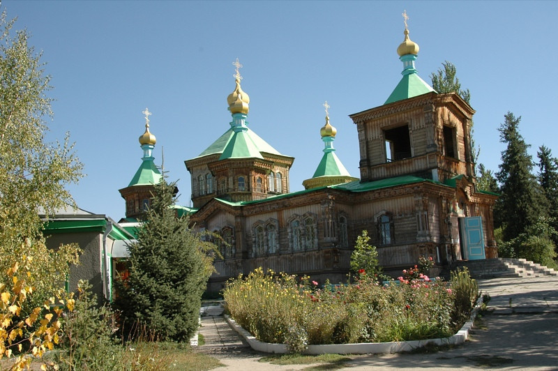 Holy Trinity Cathedral - Karakol, Kyrgyzstan