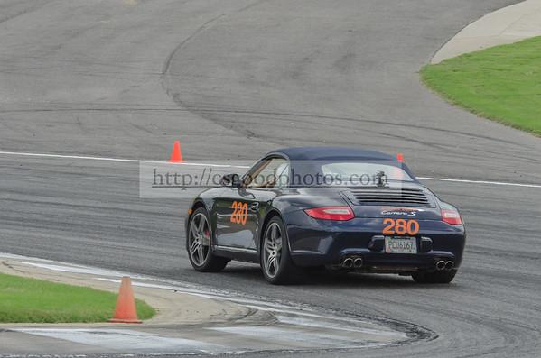 EB 280 Blue Porsche