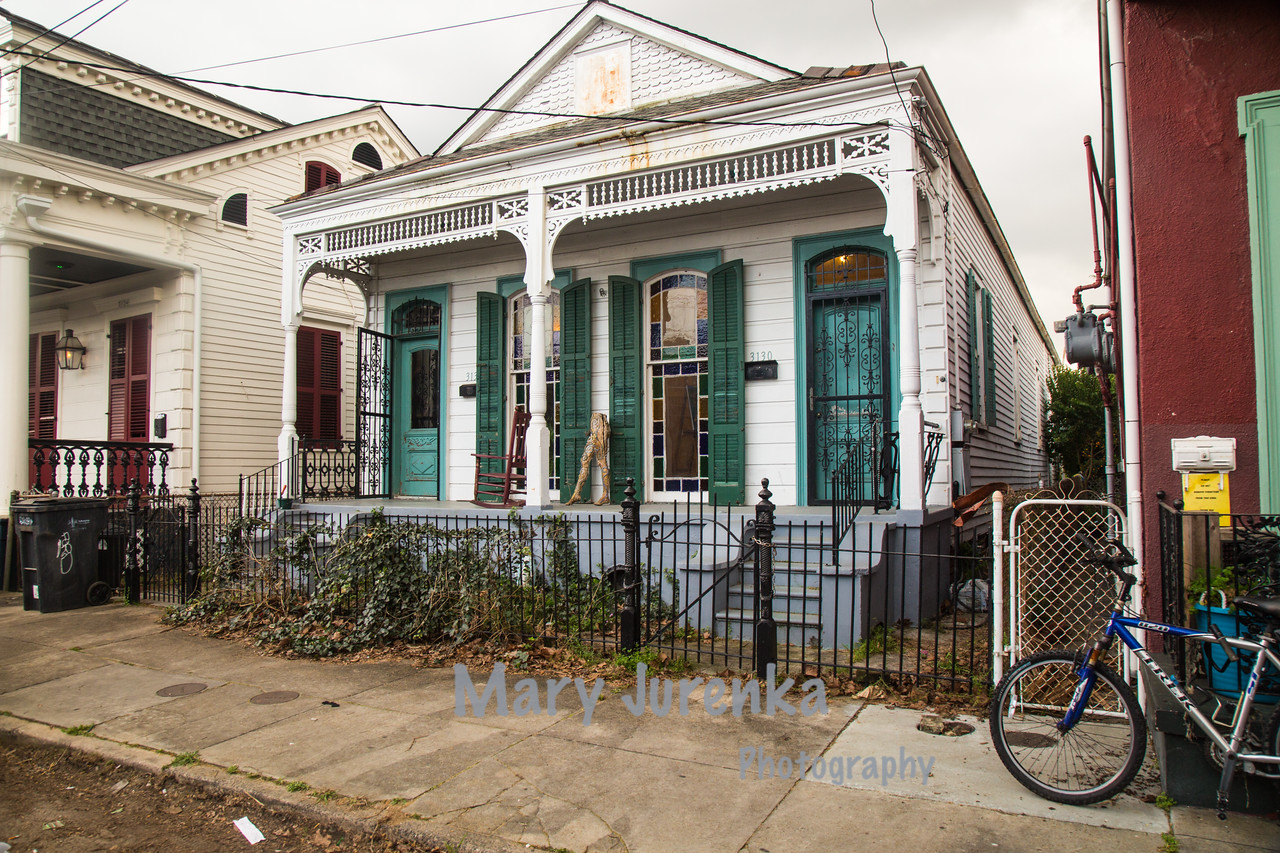 Bywaters Neighborhood in New Orleans