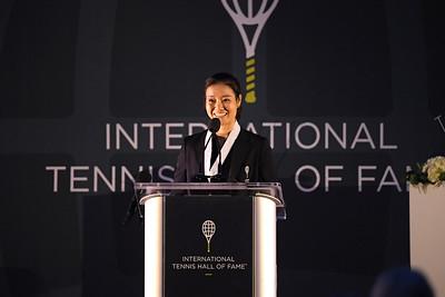 Hall of Famer Li Na