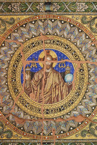 Mosaic from the Kaiser Wilhelm Memorial Church, Berlin, Germany