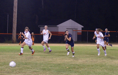 2010 Oakwood Girls Varsity Soccer vs Waynesville