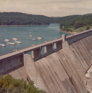 1974 Norris Dam Tennessee