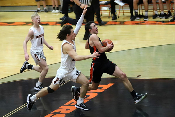 21V Boys Basketball:  Wheelersburg at Waverly 2020