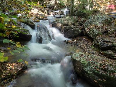Anna Ruby Waterfalls - Fall 2021