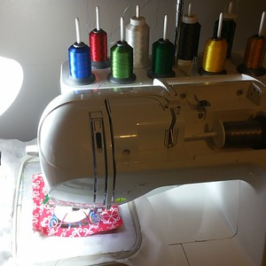 My Machines & Sewing Room