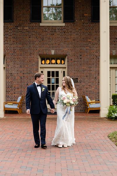 Gretchen & Patrick | Intimate Microwedding at the Carolina Inn