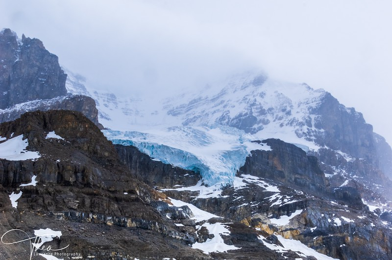 On Athabasca Glacier