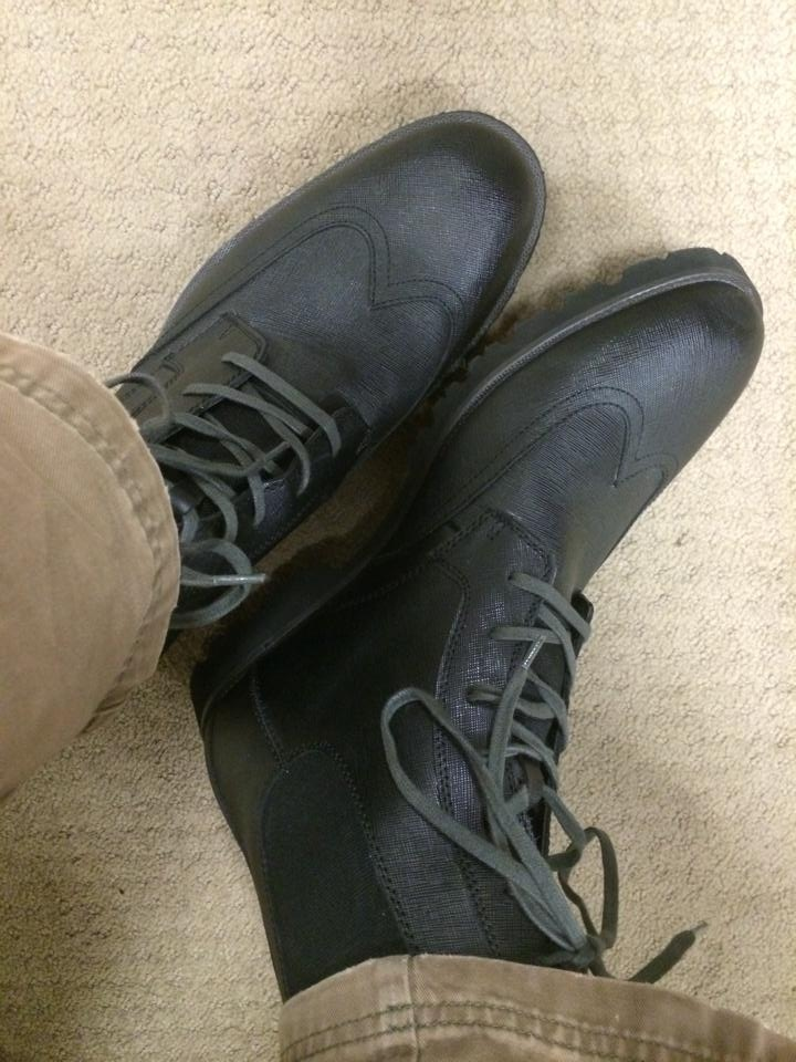 2014-01-13 - New boots