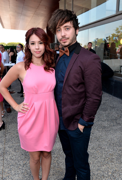 . Actress Jillian Rose Reed and musician Marty Shannon attend CW Network\'s 2013 Young Hollywood Awards presented by Crest 3D White and SodaStream held at The Broad Stage on August 1, 2013 in Santa Monica, California.  (Photo by Alberto E. Rodriguez/Getty Images for PMC)