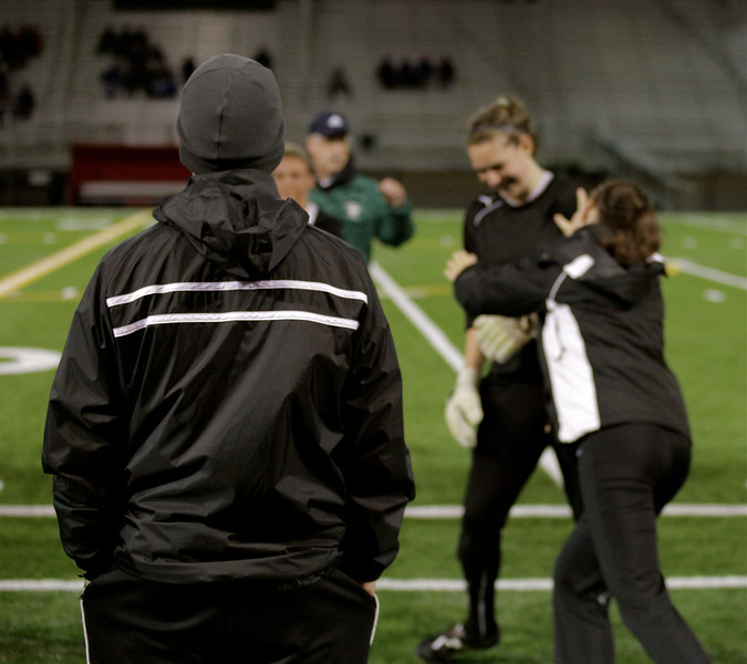 Coach Whitney, Maggie Stinson, Molly Stinson