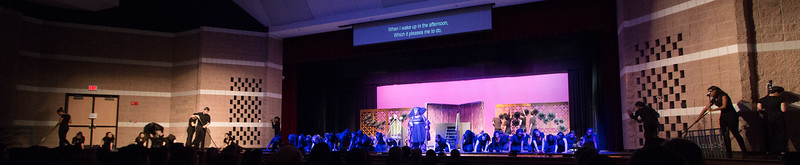 """""""No Bad News"""" (Evillene & The Winkies) -- """"The Wiz"""", Montgomery Blair High School spring musical, March 26, 2017"""