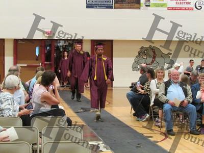 Lester Prairie graduation 2017