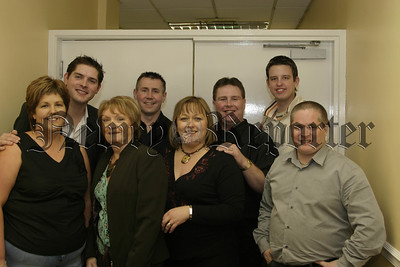 """Artists who appeared at """"Bop to you Drop"""" in the Canal Court included are Kevin Kearney, Malachi Cush, Sharon Larkin, Philomena Begley and Hospice girl Fiona Stephens.06W07N52"""
