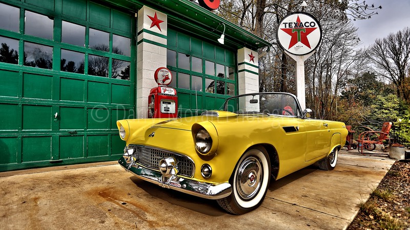Vintage Texaco, 1956 T-bird and Truck (29).jpg