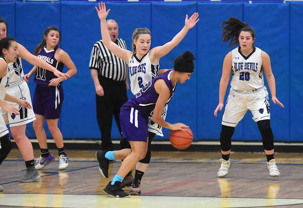 Pittsfield-Drury Girls Basketball - 010819