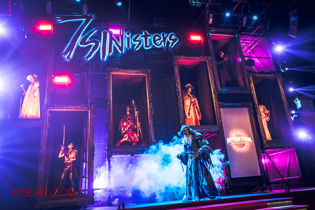 Halloween Horror Nights 7 Sneak Preview - The 7 Sinisters