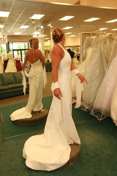 PAULA'S WEDDING DRESS FITTING