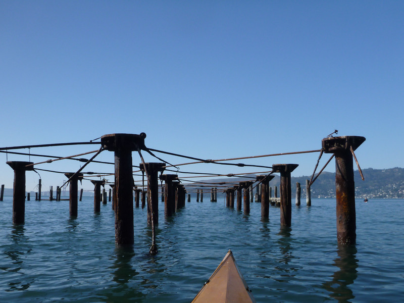 Old piers at the Garrison.