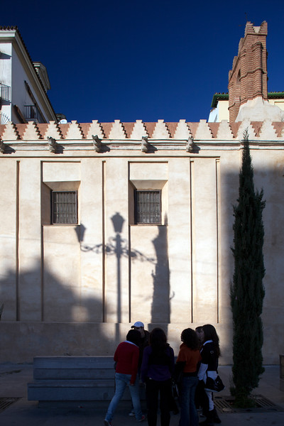 South wall of San Gregorio church, Seville, Spain