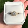 1.97ctw Antique Cluster Ring, GIA G SI2 12