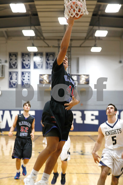 Glenbard South's Miles Horton goes up for a lay up Friday, Dec. 15, 2017 during their game at IC Catholic Prep.  Sarah Minor - For Shaw Media