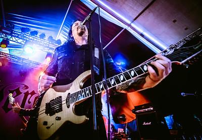 Evergrey performing at Karmoygeddon 2018