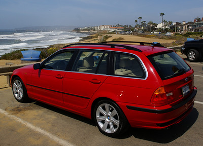 2002 Japan (Electric) Red E46 325iT