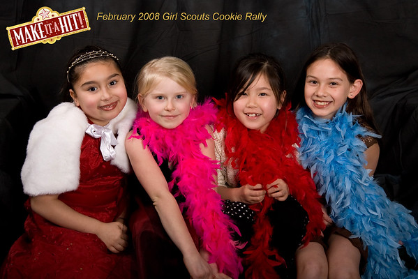 Girl Scouts Cookie Rally at NWCT
