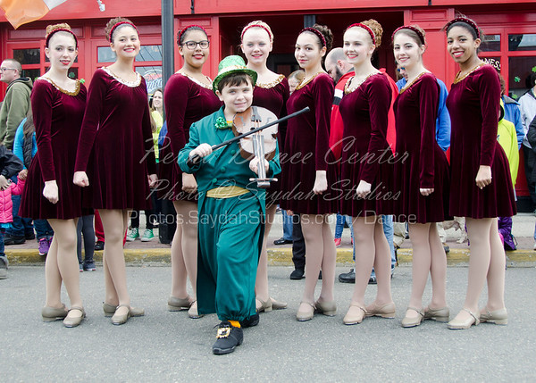 Perna Dance Celtic Pride Performance at the 2014 Keyport St Patrick's Day Parade