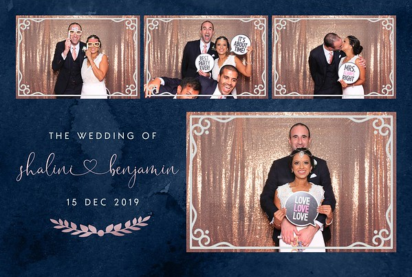 Shalini & Benjamin's Wedding - Springfield House