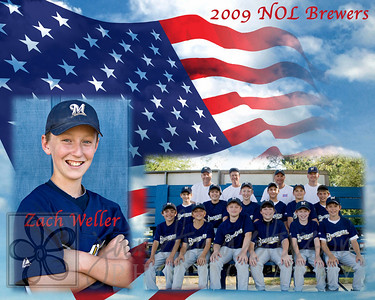 2009 NOL Brewers Team Pictures