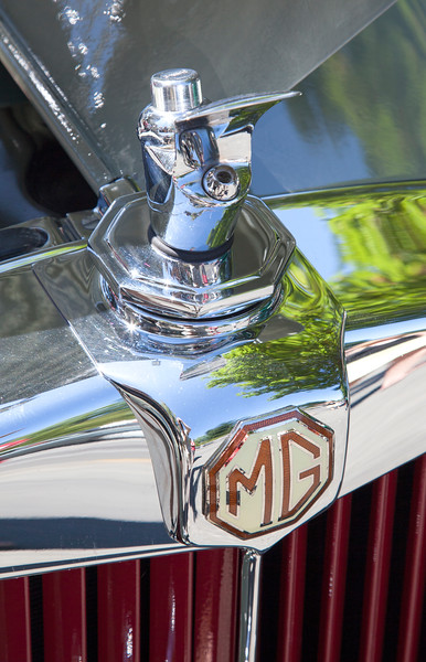 MG Radiator Cap Fountain