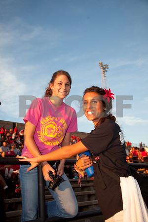 LHS vs Mustang fan cheer