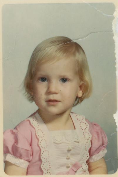 Rebecca 3 years old