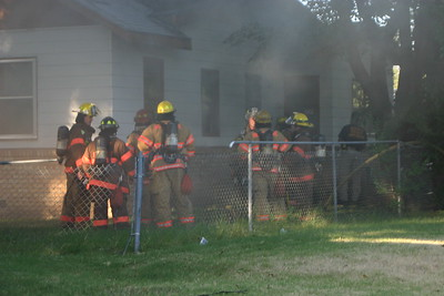 House Fire 1602 N. Kansas (7/21/06)