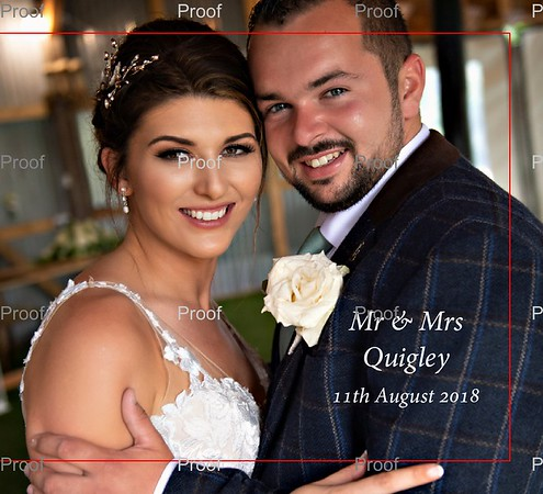 Charlene & Rhys Wedding Album Proofs