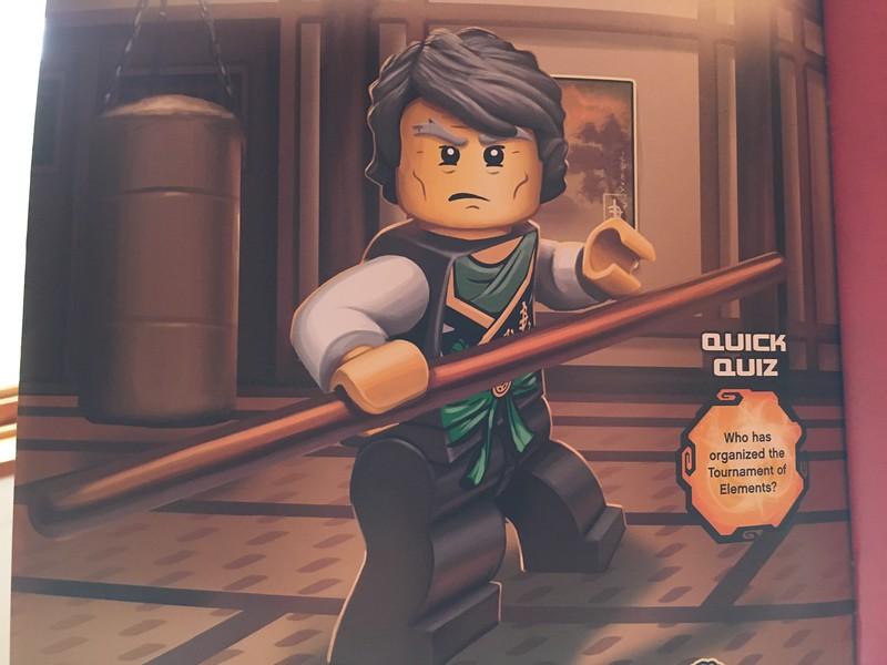 I apparently look like Garmadon... which makes Kol the Green Ninja!