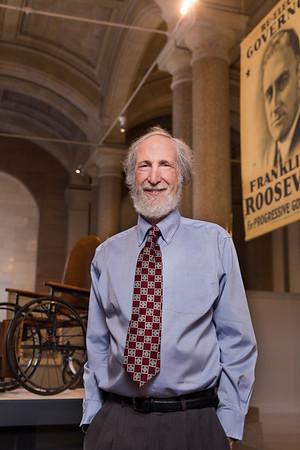Bruce Miroff at NYS Capitol