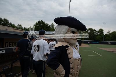 GW Baseball Senior Day