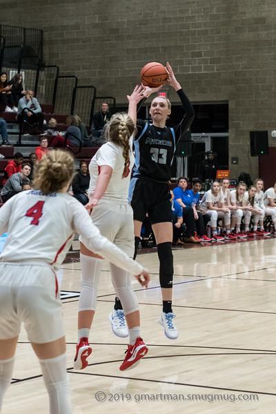 2019-20 Girls Varsity Basketball LaSalle vs. Mountainside POA Tourney
