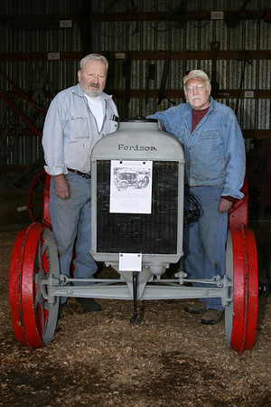 Fordson Tractor Move 2006