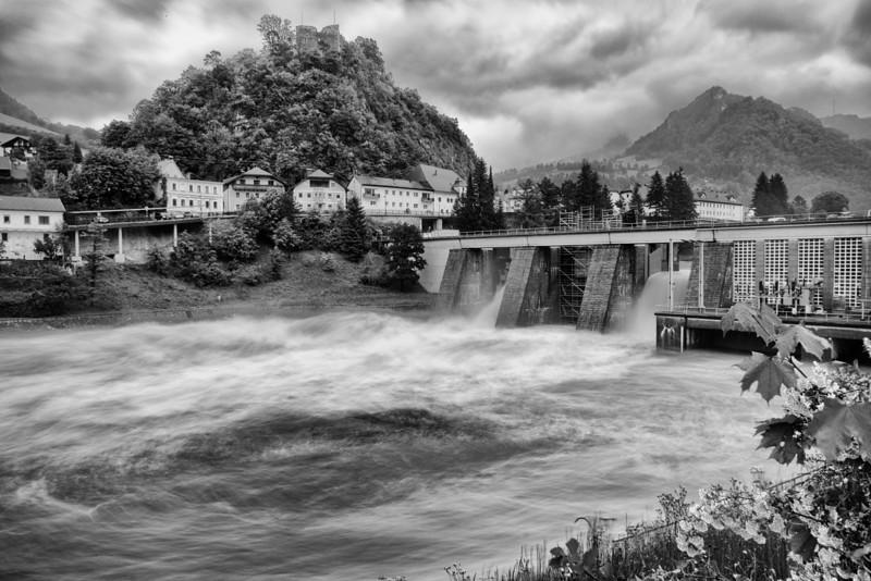 Hochwasser KW Losenstein