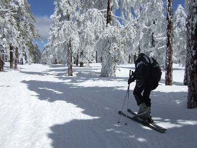 Skiing at Troodos